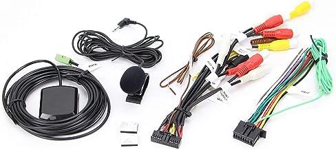 Xtenzi Connection Cable Set Compatible with Pioneer AVICW8400NEX W8500NEX W6500NEX W6400NEX DMHC2550NEX AVH-W4500NEX W4400NEX, GPS Mic Wire Harness 4 Pcs Set