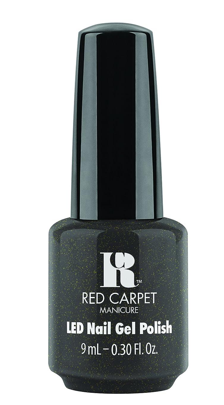 抵抗する平野粘性のRed Carpet Manicure - LED Nail Gel Polish - Always Slate Never Early - 0.3oz/9ml