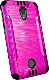 DALUX Combat Phone Case Compatible with Coolpad Legacy S - Hot Pink/Black