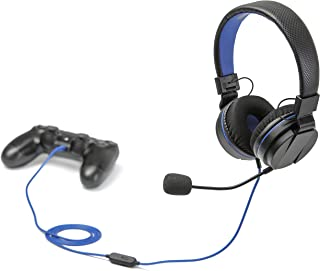 snakebyte PS4 HEADSET 4 - Playstation 4 stereo gaming headset with microphone PS4 / PS4 Slim / PS4 Pro, 3.5mm audio plug, ...