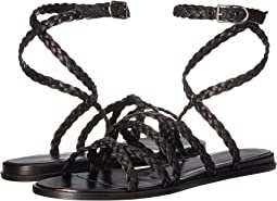 Sonia Rykiel Braided Leather Gladiator Sandal
