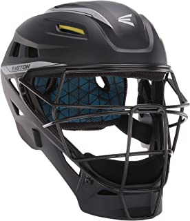 EASTON PRO X Baseball Catchers Helmet | Matte Color | 2020 | Shock Absorbing Poron XRD Foam | Moisture Wicking BIODRI liner | High Impact Resistant ABS Shell | Ergonomic Chin Cup | NOCSAE Approved