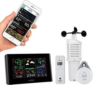 La Crosse Technology S82950-INT WiFi Professional Weather Station, Black