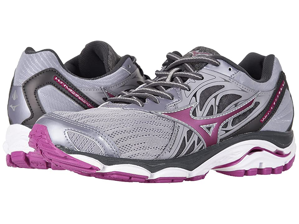 Mizuno Wave Inspire 14 (Dapple Gray/Clover) Girls Shoes