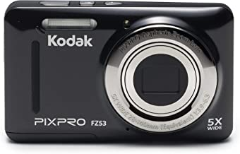 "$68 » Kodak PIXPRO Friendly Zoom FZ53-BK 16MP Digital Camera with 5X Optical Zoom and 2.7"" LCD Screen (Black) (Renewed)"