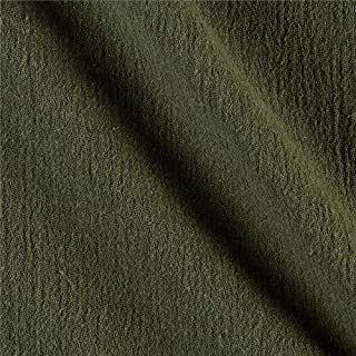 Ben Textiles Island Breeze Gauze Olive Fabric By The Yard
