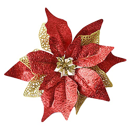 Christmas Flower Decorations.Christmas Flower Decorations Amazon Com