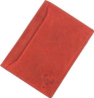 Leather Men's Wallet RFID Blocking, Front Pocket Wallet, Slim Bifold Wallet for Men, Minimalist Wallets, Sale Clearance, C...