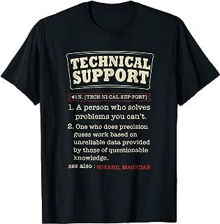 Tech Support Definition Shirt-Funny Computer Nerd Gift Shirt