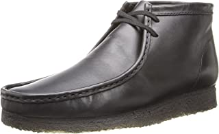 clarks original wallabee black leather