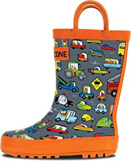 rain boots size 6 youth