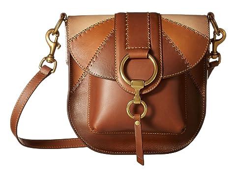 Frye Ilana Color Block Saddle Bag Handbag