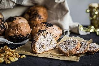 Oh My Goodness! Gollybells Gluten-Free Walnut Bread Rolls (6 Piece), 540 g - Frozen