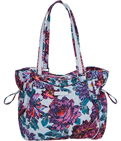 Vera Bradley Glenna Satchel (Neon Blooms) Bags