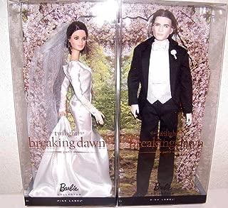 Twilight Breaking Dawn Part 1 Barbie Set of Bella and Edward Dolls