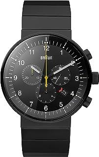 Braun - BN0095BKBKBKG - Reloj analógico Unisex de Caucho