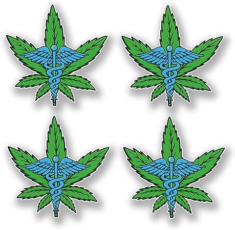 Sticker Feuille de cannabis  cannabis