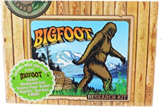 Accoutrements Bigfoot Research Kit