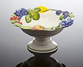 Schale Schüssel mit Fuß Obstschale Salatschale Salatschüssel Platte 27cm