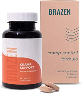 Cramp Support All Natural Supplements for Menstrual Cramps, Plant Based PMS Vitamins for Women Health, Mood...