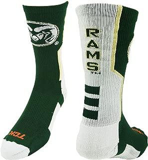 TCK CSU Rams Perimeter Crew Socks