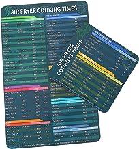 UPKOCH 2Pcs Cheat Sheet Air Fritadeira Fritadeira Ar Acessórios Para Os Tempos de Cozedura Pot Instante Guia de Referência...