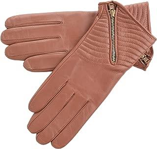 Lambland Ladies Genuine Leather Biker Style Gloves