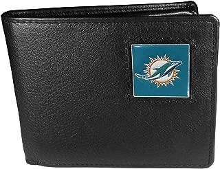 NFL Miami Dolphins Leather Bi-fold Wallet