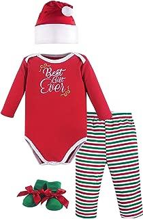 Hudson Baby Baby Holiday Clothing Gift Set, 4 Piece