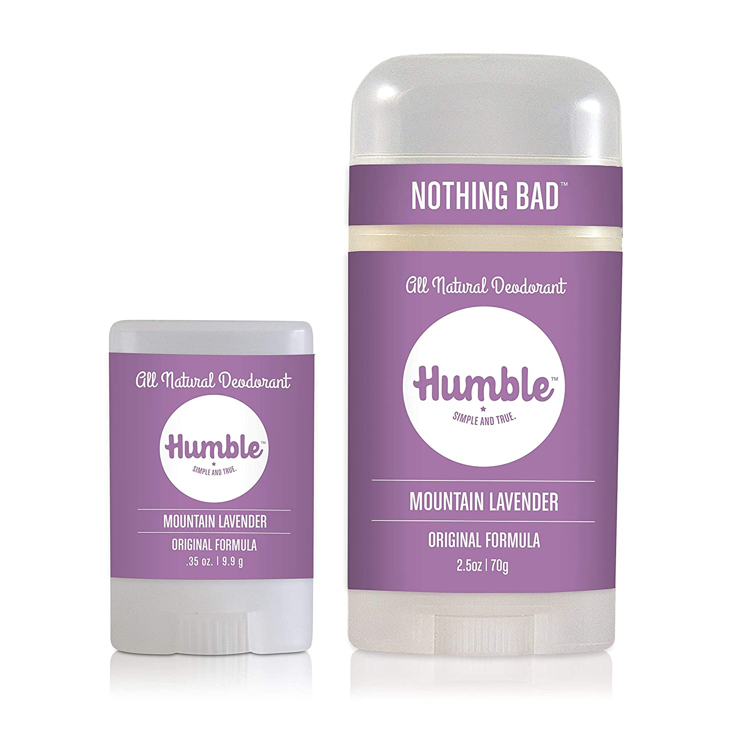 Humble Brands Free shipping on posting reviews Courier shipping free All Natural Aluminum Stick Free for Wome Deodorant