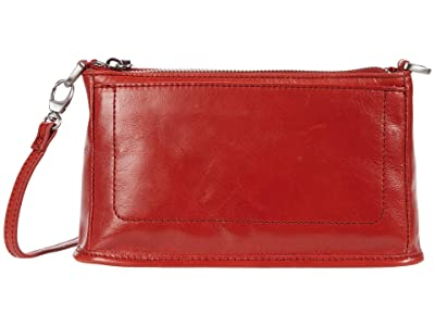 Hobo Cadence (Brick Vintage Hide) Cross Body Handbags