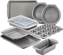 Circulon Nonstick Bakeware Set with Nonstick Bread Pan, Cookie Sheet, Baking Pans, Baking Sheet, Cake Pans and Muffin/Cupc...