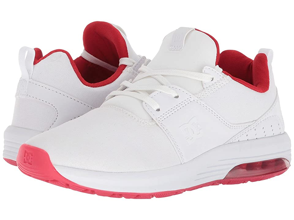 DC Heathrow IA TX SE (White/White/Athletic Red) Women