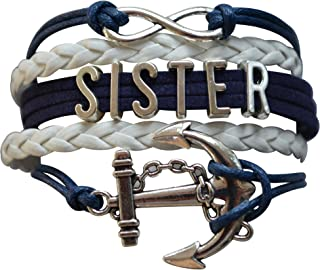 matching anchor bracelets