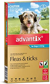 Advantix for Dogs 4-10kg, 3 Pack