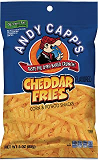 Andy Capp's Cheddar Flavored Fries, 3 oz, 12 Pack