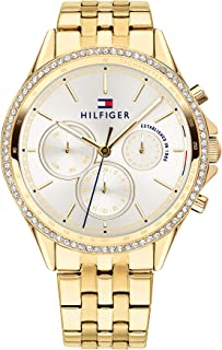 Tommy Hilfiger Womens Quartz Wrist Watch, Analog and Stainless Steel- 1781977