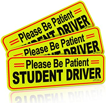 9 x 2.7 or 10 x 3 Sticker Magnet or bumper sticker or bumper magnet do it well Whatever you do