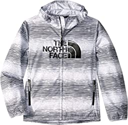 TNF White Distressed Stripe Print