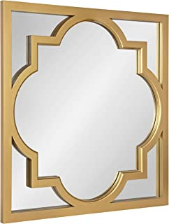 Kate and Laurel Hogan Moroccan Square Framed Mirror, 30