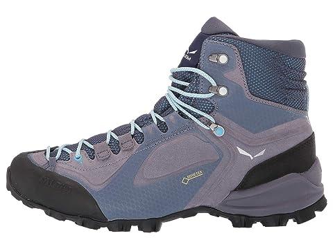 SALEWA Alpenviolet GTX Mid Shoes Damen grisailleethernal blue