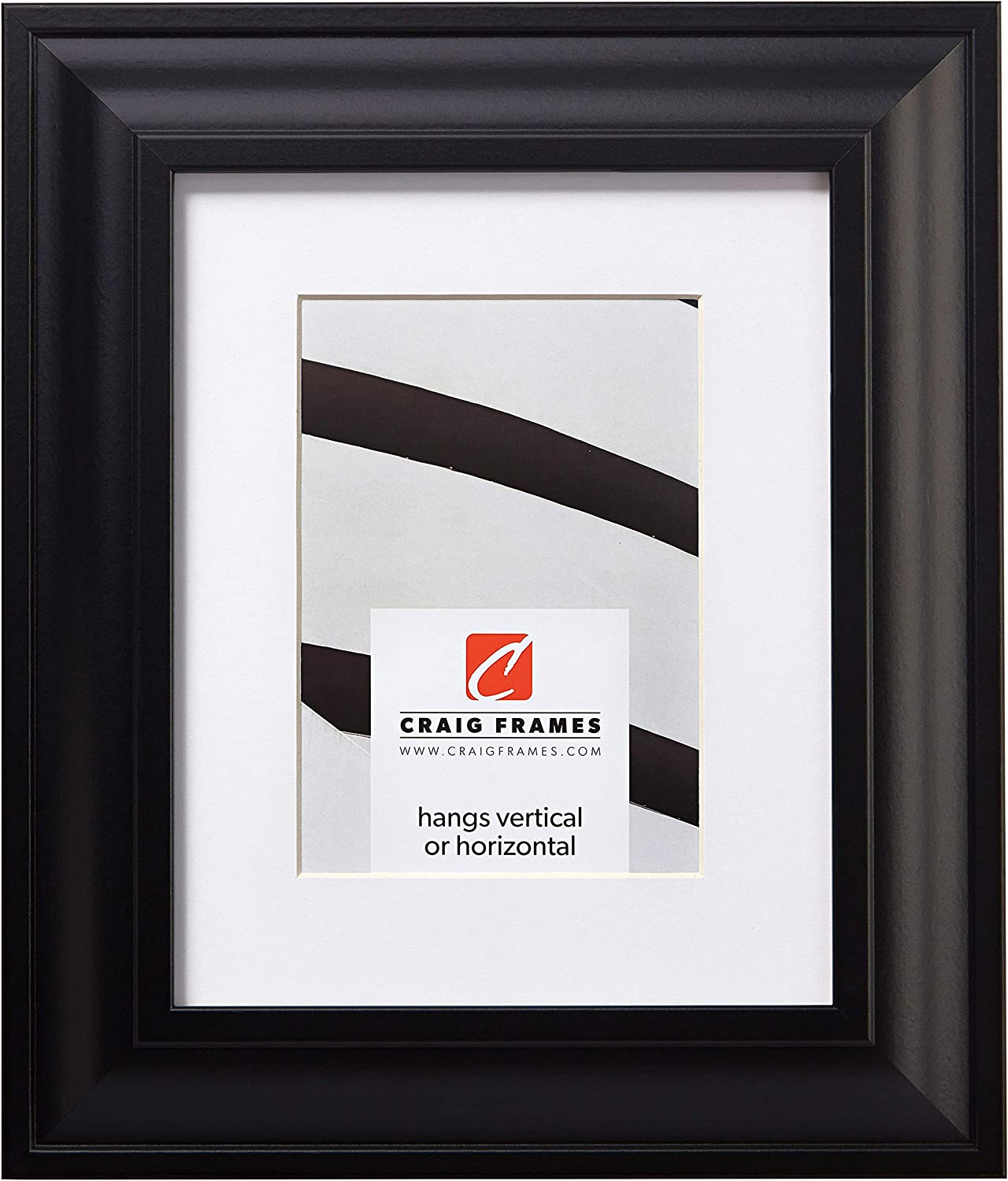 Craig Weekly update Frames Contemporary Upscale 22 x Discount mail order Pict 28 Satin Inch Black
