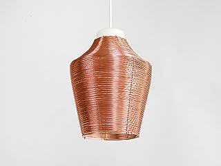 Lampada a Sospensione in Rame Intrecciato ALTO - Copper Braided Pendant Lamp Tall - Olandese - Design - Rame - a mano - in...