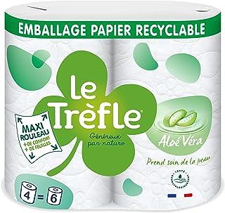 Le TREFLE Maxi Blad Aloë Vera x 4 rollen = 6 klassiekers