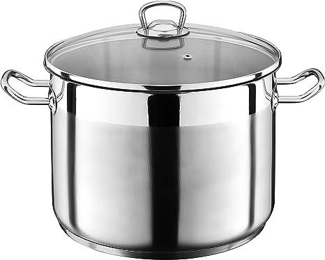 22cm 201 en acier inoxydable Steamer//marmite /à soupe 1 couche avec des m/énages /à vapeur 20cm 24cm 26cm /épaissie Adapt/é for Cuisini/ère gaz//Cuisini/ère /à induction Convient for 1-5 personnes