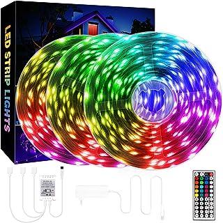 QZYL 75ft LED Lights for Bedroom, RGB LED Strip