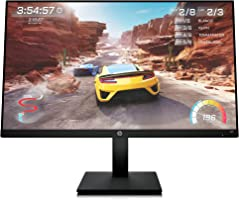 HP 27-inch FHD IPS Gaming Monitor with Tilt/Height Adjustment with AMD FreeSync PremiumTechnology (X27, 2021 Model)