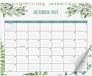 Aesthetic Greenery Wall Calendar - The Perfect Monthly Calendar for Easy Planning - Runs from January 2021 Until July 2022