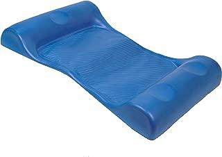 SwimWays Aquaria Aqua Hammock Lounge - Durable Aqua Cell Foam Pool Float - Blue