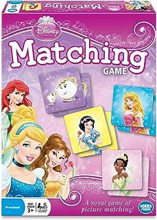 Wonder Forge Disney Princess Matching Game For Girls & Boys Age 3 To 5 – A Fun..